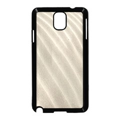 Sand Pattern Wave Texture Samsung Galaxy Note 3 Neo Hardshell Case (Black)