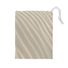 Sand Pattern Wave Texture Drawstring Pouches (Large)