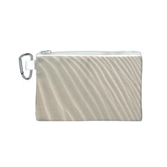Sand Pattern Wave Texture Canvas Cosmetic Bag (S)