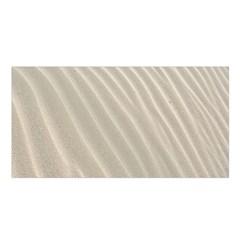 Sand Pattern Wave Texture Satin Shawl
