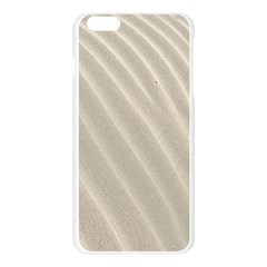 Sand Pattern Wave Texture Apple Seamless iPhone 6 Plus/6S Plus Case (Transparent)