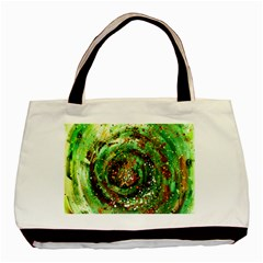 Canvas Acrylic Design Color Basic Tote Bag (two Sides)