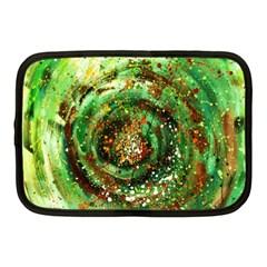 Canvas Acrylic Design Color Netbook Case (medium)