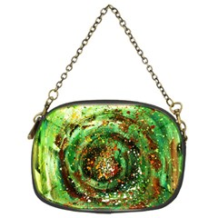 Canvas Acrylic Design Color Chain Purses (two Sides)