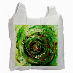 Canvas Acrylic Design Color Recycle Bag (One Side)