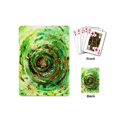 Canvas Acrylic Design Color Playing Cards (Mini)