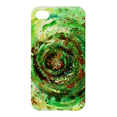 Canvas Acrylic Design Color Apple iPhone 4/4S Premium Hardshell Case