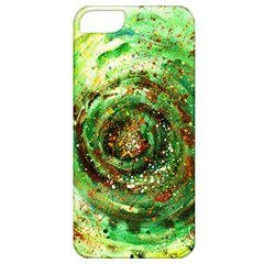 Canvas Acrylic Design Color Apple iPhone 5 Classic Hardshell Case