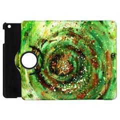 Canvas Acrylic Design Color Apple Ipad Mini Flip 360 Case