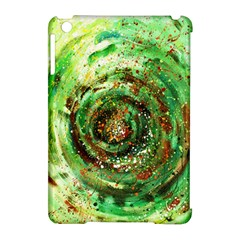 Canvas Acrylic Design Color Apple iPad Mini Hardshell Case (Compatible with Smart Cover)