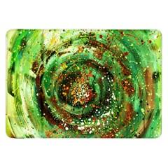 Canvas Acrylic Design Color Samsung Galaxy Tab 8.9  P7300 Flip Case