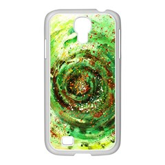 Canvas Acrylic Design Color Samsung Galaxy S4 I9500/ I9505 Case (white)