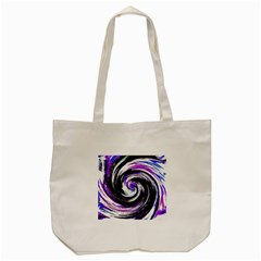 Canvas Acrylic Digital Design Tote Bag (Cream)