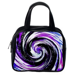 Canvas Acrylic Digital Design Classic Handbags (One Side)