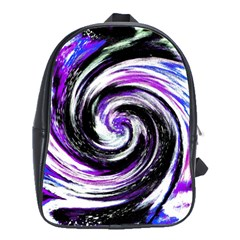 Canvas Acrylic Digital Design School Bags(large)