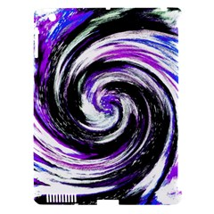Canvas Acrylic Digital Design Apple iPad 3/4 Hardshell Case (Compatible with Smart Cover)