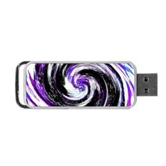 Canvas Acrylic Digital Design Portable USB Flash (Two Sides)