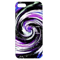 Canvas Acrylic Digital Design Apple iPhone 5 Hardshell Case with Stand
