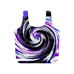 Canvas Acrylic Digital Design Full Print Recycle Bags (S)