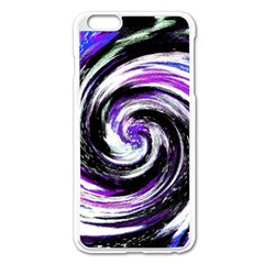 Canvas Acrylic Digital Design Apple iPhone 6 Plus/6S Plus Enamel White Case