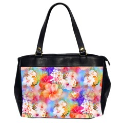 Tropical Hawaiian Garden  Office Handbags (2 Sides)