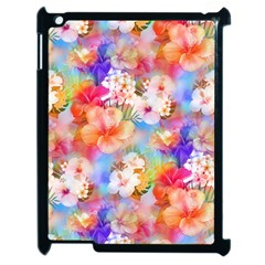 Tropical Hawaiian Garden  Apple iPad 2 Case (Black)
