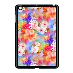 Tropical Hawaiian Garden  Apple iPad Mini Case (Black)