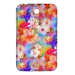 Tropical Hawaiian Garden  Samsung Galaxy Tab 3 (7 ) P3200 Hardshell Case