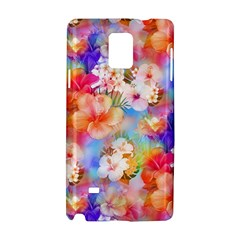 Tropical Hawaiian Garden  Samsung Galaxy Note 4 Hardshell Case