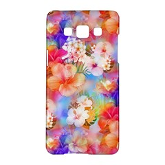 Tropical Hawaiian Garden  Samsung Galaxy A5 Hardshell Case