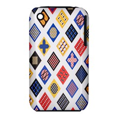 Plaid Triangle Sign Color Rainbow iPhone 3S/3GS