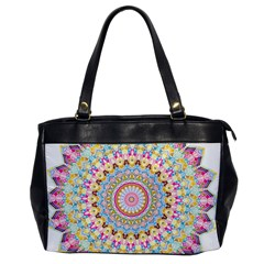 Kaleidoscope Star Love Flower Color Rainbow Office Handbags