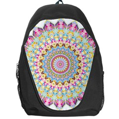 Kaleidoscope Star Love Flower Color Rainbow Backpack Bag
