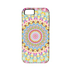 Kaleidoscope Star Love Flower Color Rainbow Apple Iphone 5 Classic Hardshell Case (pc+silicone)