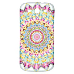 Kaleidoscope Star Love Flower Color Rainbow Samsung Galaxy S3 S III Classic Hardshell Back Case