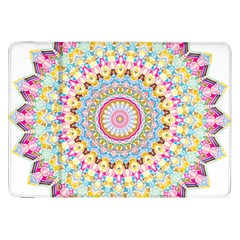 Kaleidoscope Star Love Flower Color Rainbow Samsung Galaxy Tab 8.9  P7300 Flip Case