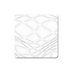 Line Stone Grey Circle Square Magnet