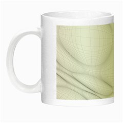 Line Stone Grey Circle Night Luminous Mugs