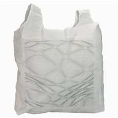 Line Stone Grey Circle Recycle Bag (Two Side)