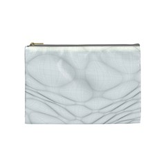 Line Stone Grey Circle Cosmetic Bag (Medium)