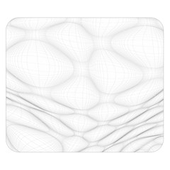 Line Stone Grey Circle Double Sided Flano Blanket (Small)