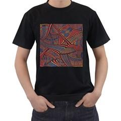 Random Inspiration Men s T Shirt (black) (two Sided)