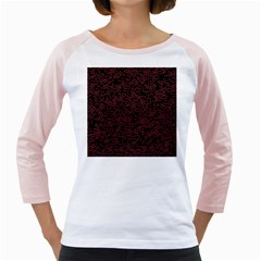 Random Pink Black Red Girly Raglans