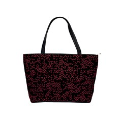 Random Pink Black Red Shoulder Handbags