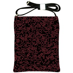 Random Pink Black Red Shoulder Sling Bags