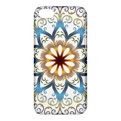 Prismatic Flower Floral Star Gold Green Purple Orange Apple iPhone 5C Hardshell Case