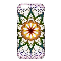 Prismatic Flower Floral Star Gold Green Purple Apple Iphone 6 Plus/6s Plus Hardshell Case