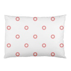 Scrapbook Paper Flower Pillow Case (Two Sides)