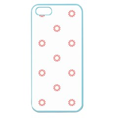 Scrapbook Paper Flower Apple Seamless iPhone 5 Case (Color)