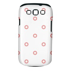 Scrapbook Paper Flower Samsung Galaxy S III Classic Hardshell Case (PC+Silicone)